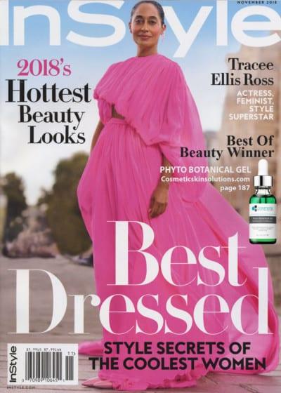 InStyle 2018 Best of Beauty Award Winner