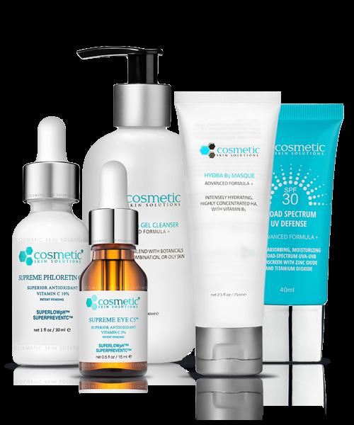 Supreme Phloretin + Cleanser + Supreme Eye + Hydra B5 Masque + Sunscreen
