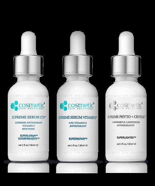 Supreme Serum C20 + Supreme Serum Vitamin E + Supreme Phyto Crystal