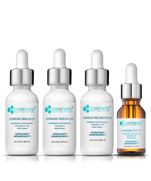 Supreme Serum CE + Supreme Serum C20 + Supreme Phloretin + Supreme Eye