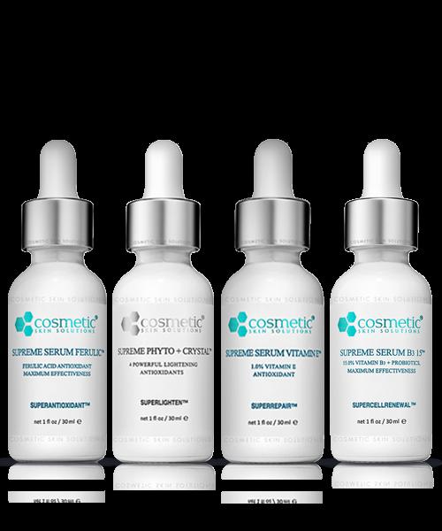 Supreme Serum Ferulic + Supreme Phyto & Crystal + Supreme Serum Vitamin E + Supreme Serum B3 15%
